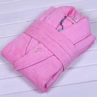 Jade thickening 100% cotton towel bathrobe bathrobes lovers bathrobe