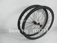 Original DT swiss&Sapim spokes! Carbon 38mm clincher wheels 25mm wide aerodynamic bicycle wheel