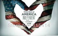 """01 U.S. Independence Day 46""""x24"""" inch wall Poster with Tracking Number"""