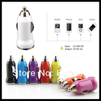 5V 1A Universal USB Car Charger Adapter For Apple iPhone 5 3Gs 4 4S iPod,300pcs/lot DHL/Fedex