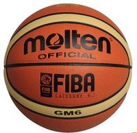 Free Shipping Size6 Molten Basketball GM6, PU Materi women basketball