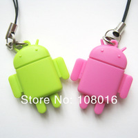 FREE SHIPPING,hot sell, 100pcs/lot ,robot USB 2.0 memory card reader/ TFcard /micro SD card reader