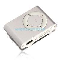 Mini USB MP3 Music Media Silver Clip Player Support 1GB 2GB 4GB 8GB TF Card A#S0