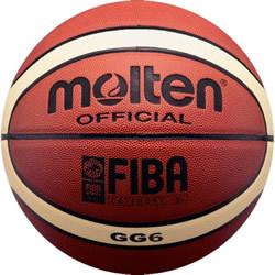 Free Shipping Size6 Molten Basketball GG6, PU Materi women basketball(China (Mainland))