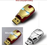 Iron Robot Usb flash drive 2 4 8 16 32 64 GB++free HK post(32 64 G) usb flash Memory disk pendrive++drop shipping