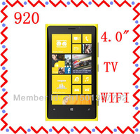 "Free Shipping 4.0"" Touch Screen Quad Band Dual SIM N9 920 TV WIFI Mobile Phone"