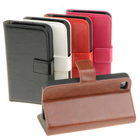 Fashionable Multifunction Leather Wallet Holder Case Cover For IPhone 4S CM487