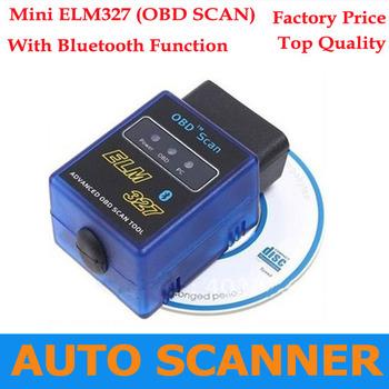 2013 Best Selling work on android Torque ELM327 v1.5 mini ELM327 bluetooth OBDII OBD2 protocols Auto diagnostic tool