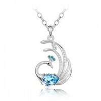Yiwu accessories crystal necklace b63 crystal necklace female accessories jewelry