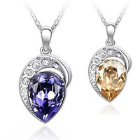 Accessories accessories crystal necklace b140 - new arrival female jewelry