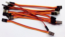whosale 120mm JR Male to male connecting cable for lead wire cable for helicopter airplane car