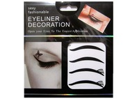 Kh-07 black eyeliner double eyelid natural eyeliner eye shadow stickers