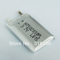 NEW HT502030PL RECHARGEABLE LI-POLYMER BATTERY WITH TABS FOR MP3 MP4 3.7V 2PCS/LOT