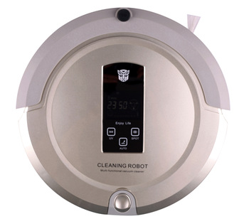 home cleaning,robot vacuum cleaner(Sweep,Vacuum,Mop,Sterilize),LCD Touch Screen,Schedule,Virtual Wall,Auto Charge