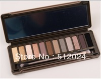 300pcs/lot New arriving 12 COLOR Professional EYE SHADOW POWDER EYESHADOW palette makeup set Free shipping