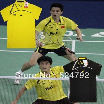 free shipping New 2012 Li Ning Men Table Tennis  Polo Shirt+Shorts