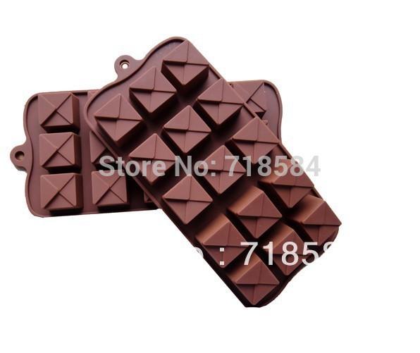 Silicone Xmas verificação Chocolate cookies Candy Pop Mold Baking cortador Fondant bolo de ferramentas bandeja de gelo 15 unidades grátis frete(China (Mainland))