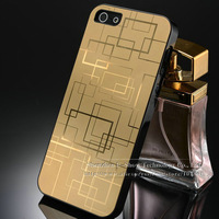 Aluminum case for iphone 4s brushed Aviation aluminum back cover for iphone 5g matel case for iphone4 free touch pen as gift