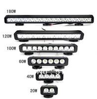 Dedicated Off-road Car Refit Front Bumper Lights LED Car Daytime Running Lights LED Strip Lights 180W Free Shipping Hot