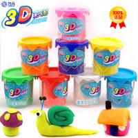 Zhigao 3d dough toy 8 8 bucket kk dough plasticine tools mould set