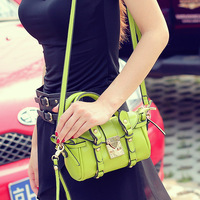 New arrival small fresh 2013 strap decoration women's handbag bow one shoulder handbag m09-052