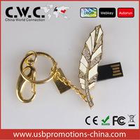 leaf shape memory stick  2GB 4GB 8GB 16GB 32GB 64GB Free Shipping