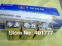 Wholesale 10 piece/pack 9volt (9v) battery pack  power supply remote control car batteries / TOY battery-free shipping
