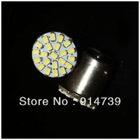 Free Shipping 20pcs/lot S25 1157 BAY15D 22SMD 22 LEDS light 22 SMD 3020 SMD High bright white color bulbs