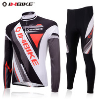 Inbike 2013 spring and autumn clothing ride long sleeve length pants set napa Men mountain bike