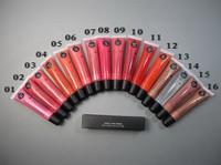 32pcs \ 1lot 2013 new lip gloss, lip gloss tube, 16 colors choose, Free shipping!