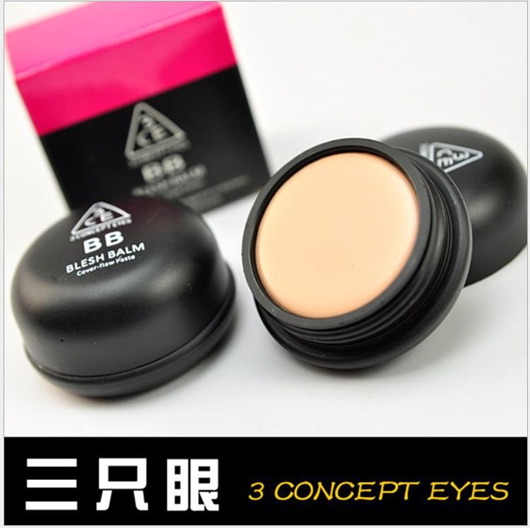 3CE BRIGHTEN brand concealer foundation,cosmetics 2color/set natural Soft matte makeup face powder,security benefit makeup(China (Mainland))