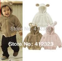 2015 new baby children fleece coat hoody kids warm animal model coat outwear clothes