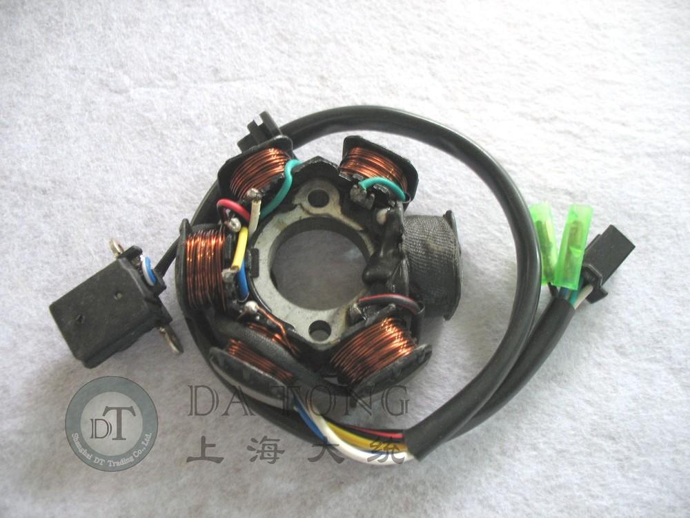 6 катушка статора магнето генератор статора для Chinesse GY6 150cc 157QMI QJ Keeway скутер Honda Yamaha ATV мотоцикл мопедов