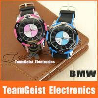 2014 Fashion design famous car design sports Ribbon Wrist Watch car watch mens quartz watch Free Shipping