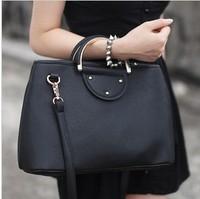 2 Colors HOT 2013 New Fashion Women Handbag High Quality Leather Shoulder Bag Women's Messenger Bag 15