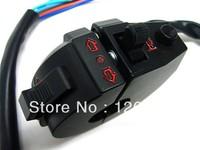 Free Shipping Dual Sport Left Switch Light Turn Signal Horn for Kawasaki KLX KLR650 KTM EXC SX Suzuki DR 250 350 DRZ 400 650