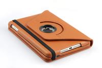 Free shipping 360 Degree Rotating Bluetooth Split Leather Keyboard Case for ipad mini K360mini