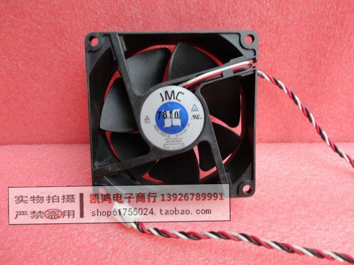 Jmc 8025-12ls 12v 0.13a 8cm 8025 3 line ultra quiet computer case cooling fan(China (Mainland))