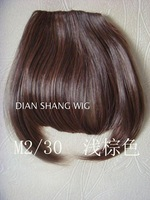 Wholesale Imitation human made Wig lengthen wig fringe hair bangs qi extension piece
