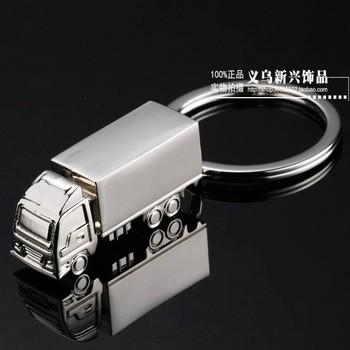 Gift model truck car keychain key chain gift logo
