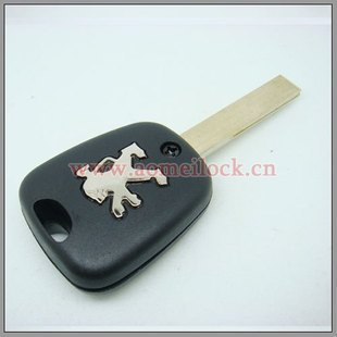 Dongfeng 307 car key peugeot shell Peugeot 307 straight key remote control shell exquisite(China (Mainland))