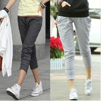 new 2014 Women sports pants casual harem pants woman skinny pencil pants Yoga sweatpants for women Dance Trouser Sweat Pants