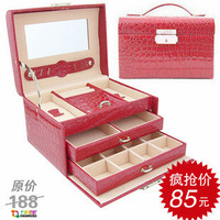 Jewelry box fashion princess jewelry box cosmetic box birthday gift