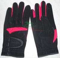 Riding gloves riding gloves saddleries equestrian supplies wear-resistant super-fibre leather gloves slip-resistant