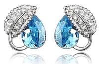 Earring crystal accessories stud earring accessories stud earring a09 accessories personalized stud earring (can mixture order)