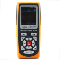GM100DU USB Photoelectric Laser Distance Meter Volume Tester 100m Range Finder