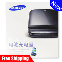 free shipping New Original battery desktop charger Dock Station For Samsung Galaxy S3 III i9300