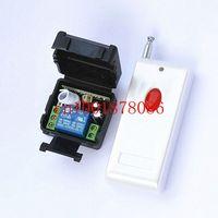 Free Shipping DC12V 1CH 1000m wireless switch remote control system remote control switch for guard door/window/curtain