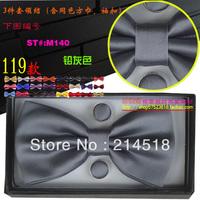Excellent quality,NEW Arrival Mens Cotton/silk Adjustable Neck plaid Bowtie Bow Tie 90 Colors Cheap price M140