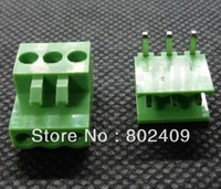 100/lot 300V/8A 3.96mm 3Poles Terminal Block HT396K & HT396R